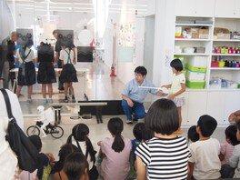 小松村田製作所体験教室「ミクロの世界を探検だ!&ムラタセイサク君走行実演見学」