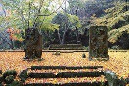 六郷満山ふれあい森林公園の紅葉
