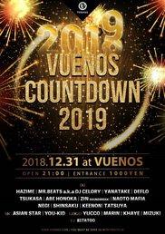 VUENOS COUNTDOWN 2018⇒2019