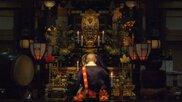 初詣は岩屋寺へ