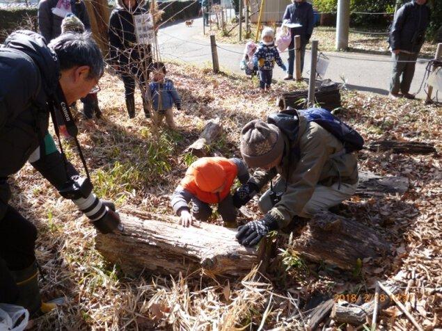 冬の生き物観察会~五楽体験事業~
