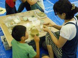 親子考古学教室 第1回「土器作り体験」