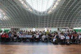 第14回兵庫県車いすテニス大会 in ブルボンビーンズドーム 2018