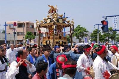 みこしパレード(銚子みなとまつり)