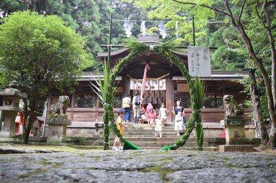 朱智神社 祇園宵宮まつり