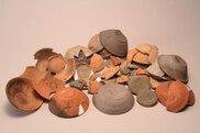 図書館×博物館連携展示「市内最古の文字資料~古代の墨書土器~」