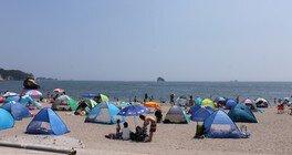 【海水浴】桂島海水浴場