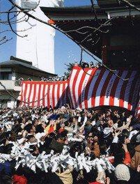 成田山 節分祭