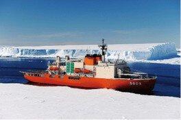 古代の南極の氷を触ってみよう