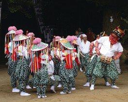 浅間神社例祭「羯鼓舞」