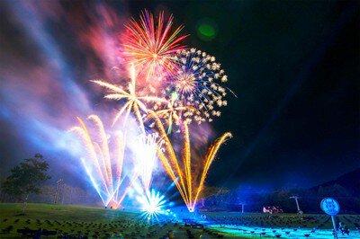 【2020年中止】ルスツリゾート うまいもん祭り花火大会