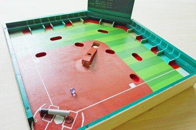 夏の自由工作「作って遊べるベースボールゲーム」作り
