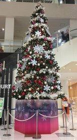 ヒルズウォーク クリスマスツリー