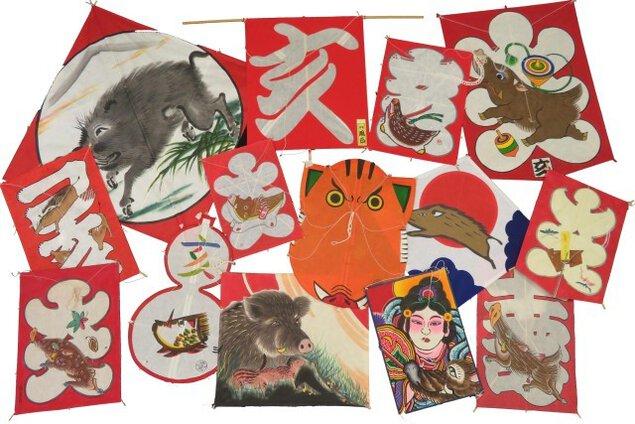 新春特別企画「亥の干支凧とお正月遊び」