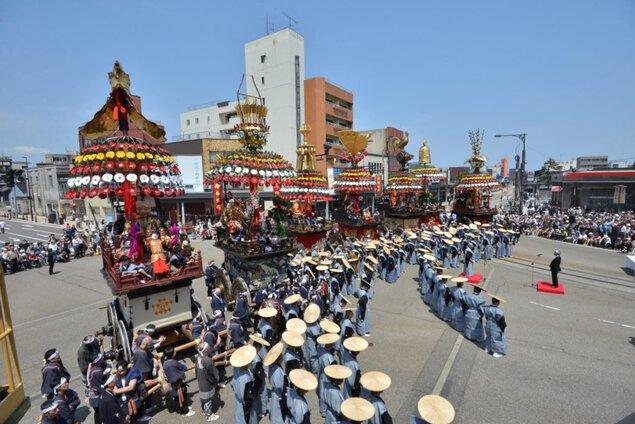 【開催中止】高岡御車山祭