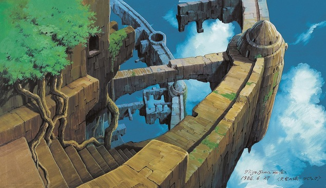 日本のアニメーション美術の創造者 山本二三展 〜天空の城ラピュタ、火垂るの墓、もののけ姫、時をかける少女〜