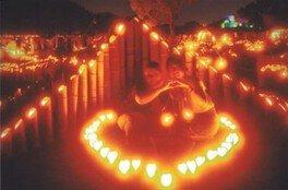 竹燈夜 in 山東 2018