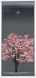ファミリー文学館「大本靖の版画でたどる北海道四季の風景」