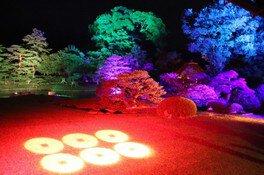 真田邸庭園ライトアップ「幻奏」