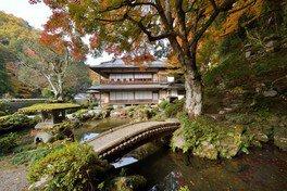 旧堀氏庭園の紅葉