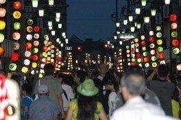 本川越駅前~札の辻、連雀町交差点~松江町交差点および周辺商店街