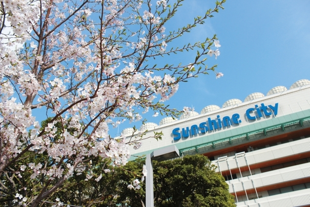 お花見フェア in サンシャインシティ