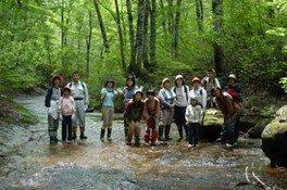 地球元気村 in 只見「新緑のブナ森歩き&古民家宿泊体験」