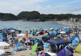 【海水浴】守谷海水浴場