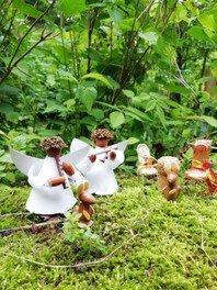 府民の森ほしだ園地 森の工作会「森の妖精つくり」