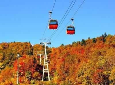 札幌国際スキー場・秋祭り~紅葉ゴンドラとパノラマ展望台!秋の味覚祭~