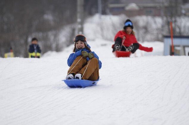雪の遊園地ノルンみなかみスノーランド