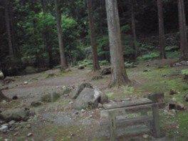滑床キャンプ場