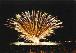 【2020年中止】第33回くろべ生地浜海上花火大会
