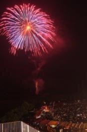 【2020年開催なし】小林市すき納涼花火大会