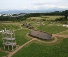 三内丸山遺跡 縄文時遊館