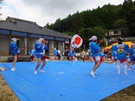 中木庭天満宮秋祭り(たぬき踊り)
