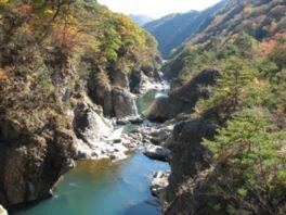 龍王峡の紅葉