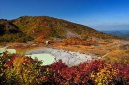 栗駒山の紅葉(岩手県・一関市)