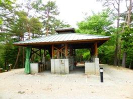 徳島県立佐那河内いきものふれあいの里 キャンプ場