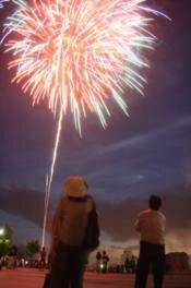 【2020年開催なし】第40回小さなふるさとづくり「七夕の夕べ」花火大会