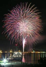 【2020年開催なし】スワンフェスタ2019協賛道新花火大会