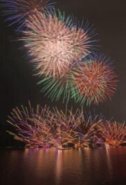 第43回川辺おどり・花火大会