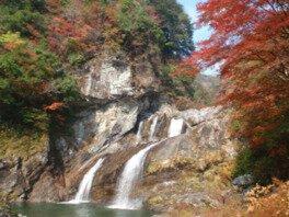 瀬戸川渓谷の紅葉