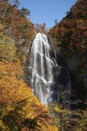 中ノ又渓谷(安の滝)の紅葉