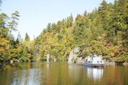 太平湖・小又峡の紅葉