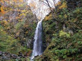 高瀬峡の紅葉
