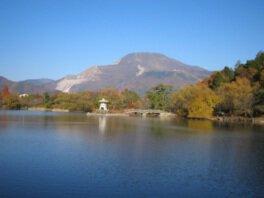 三島池の紅葉