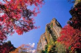 乳待坊公園の紅葉
