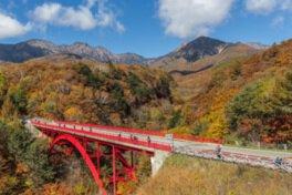 川俣川渓谷・東沢大橋の紅葉