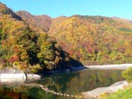 松川渓谷(片桐松川)の紅葉